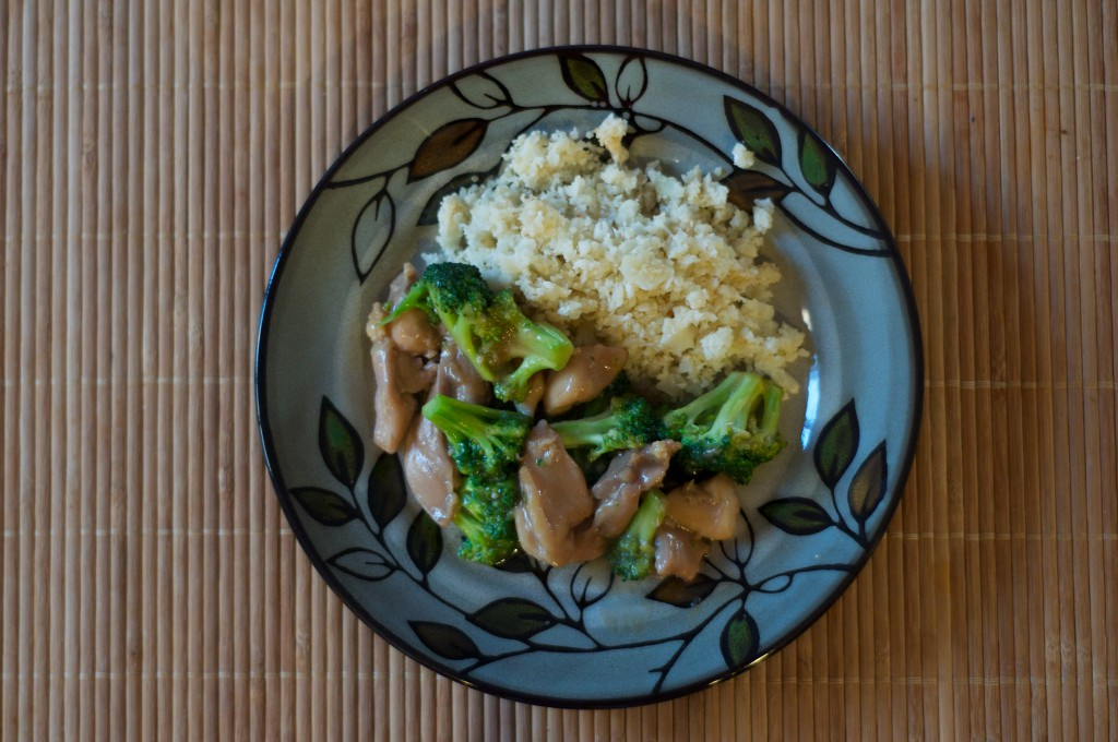 Chinese Chicken Broccoli 1
