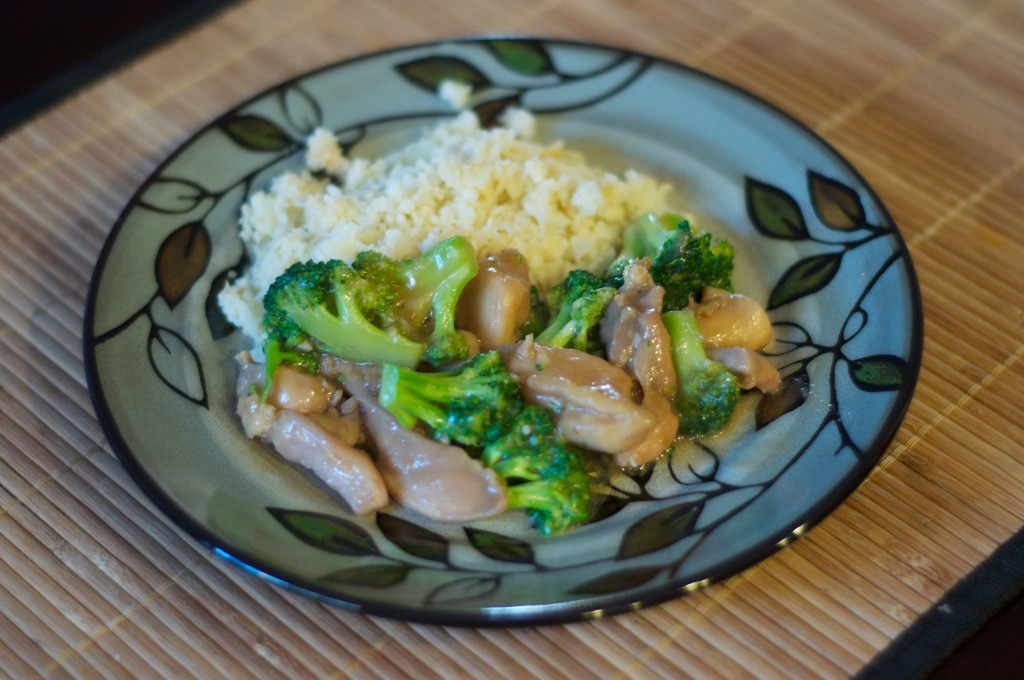 Chinese Chicken Broccoli 3