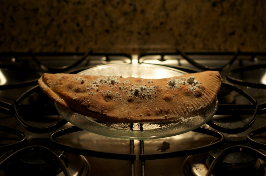 Chocolate Chip Calzone Done 1