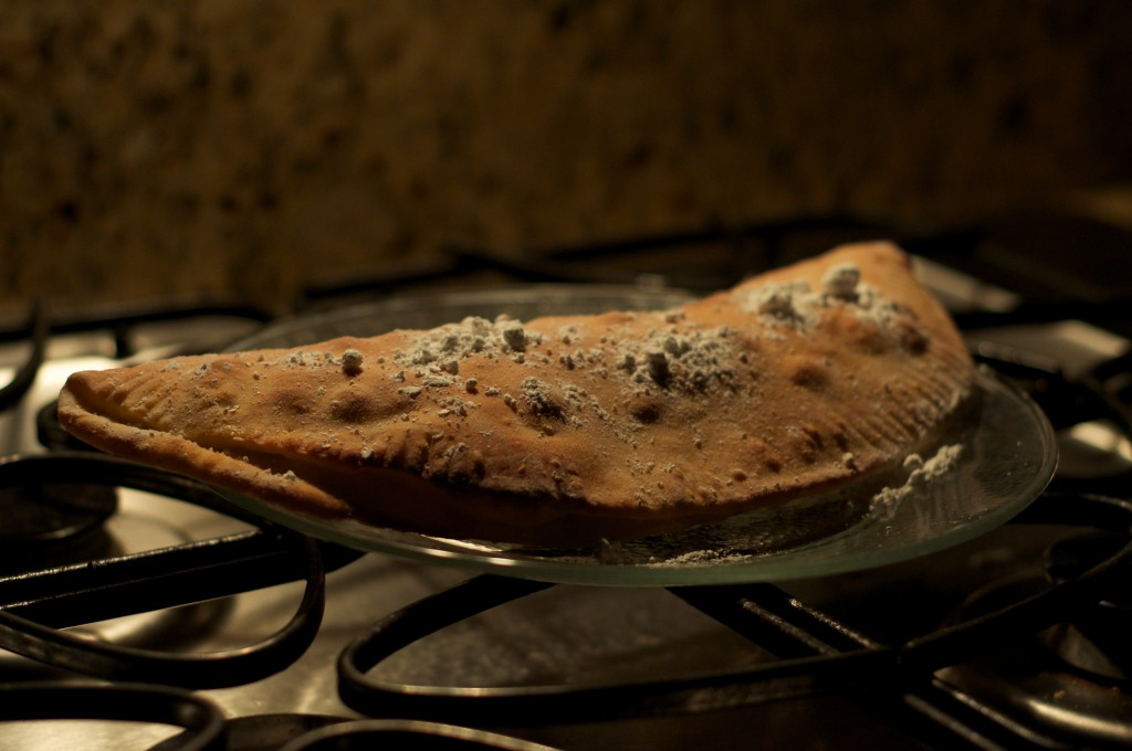 Chocolate Chip Calzone Done 2