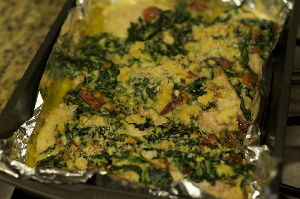 Amazing Spinach Chicken 1