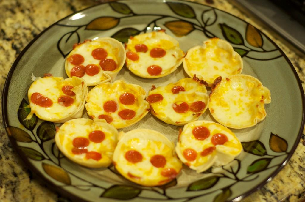 Mini Deep Dish Pizzas 2
