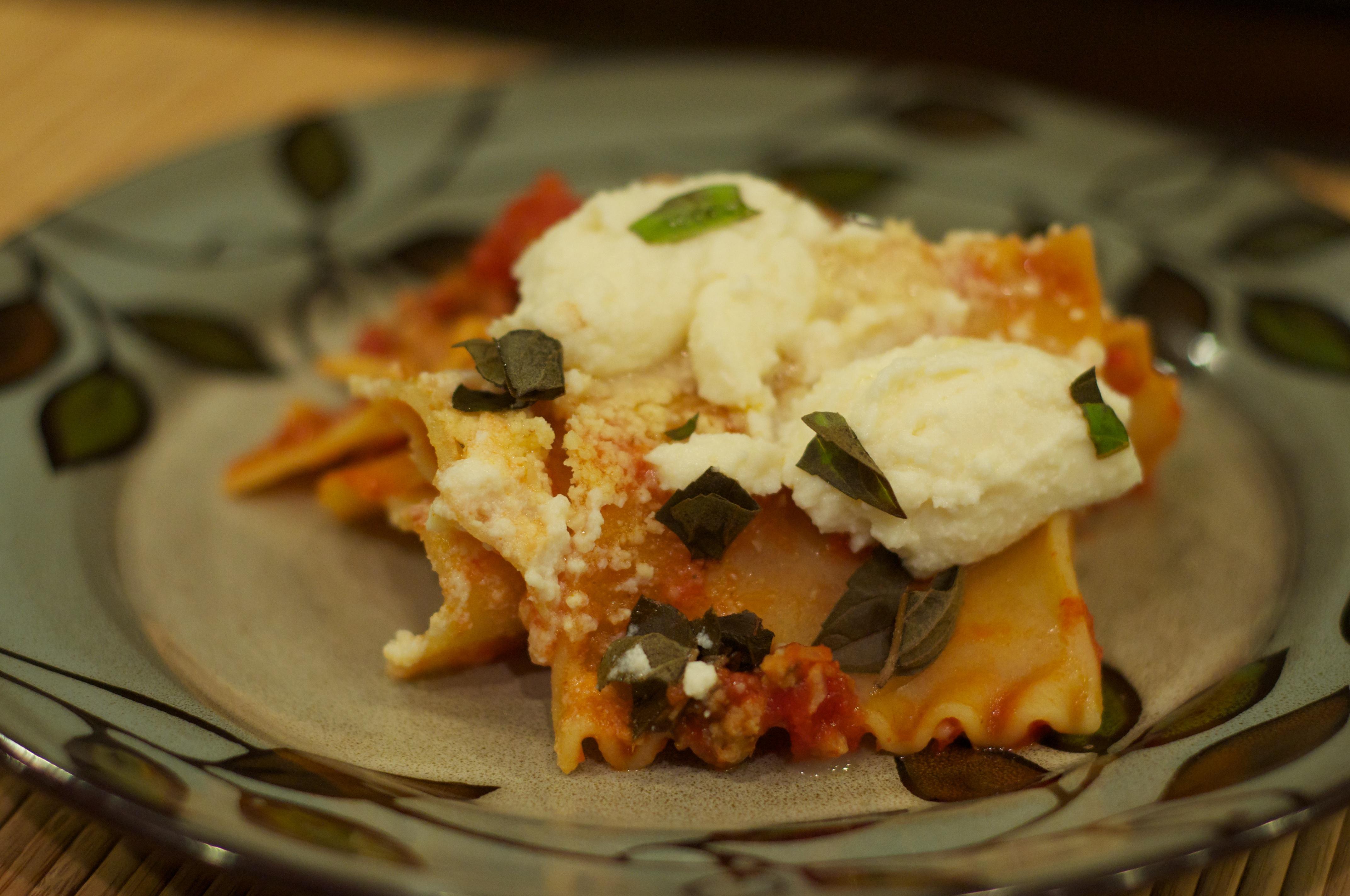 Skillet Lasagna 1