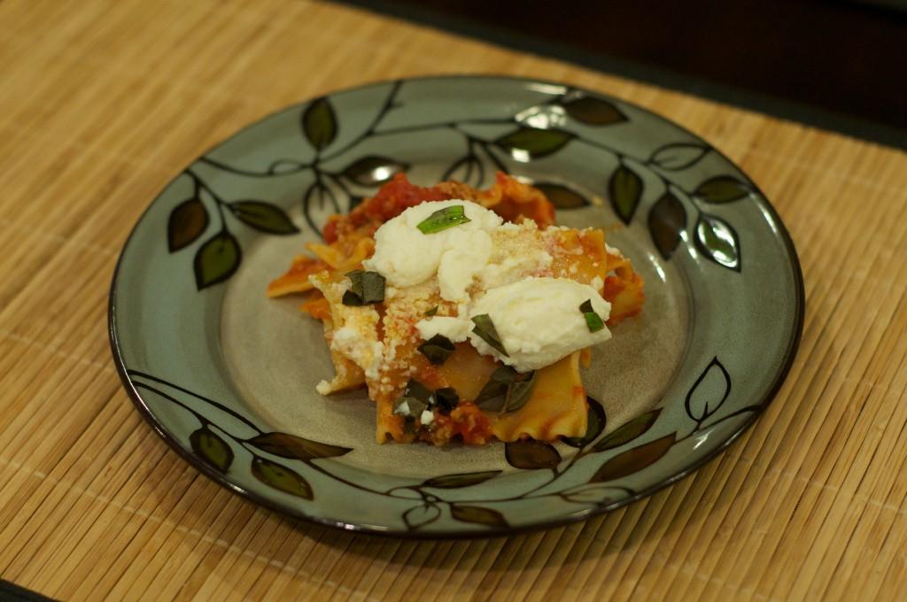 Skillet Lasagna 3