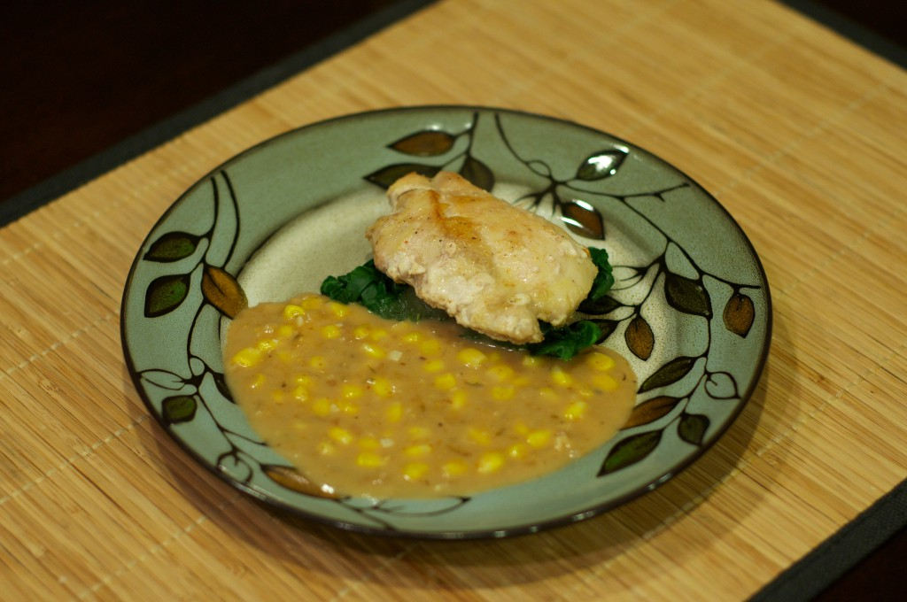 Chicken with Corn 1