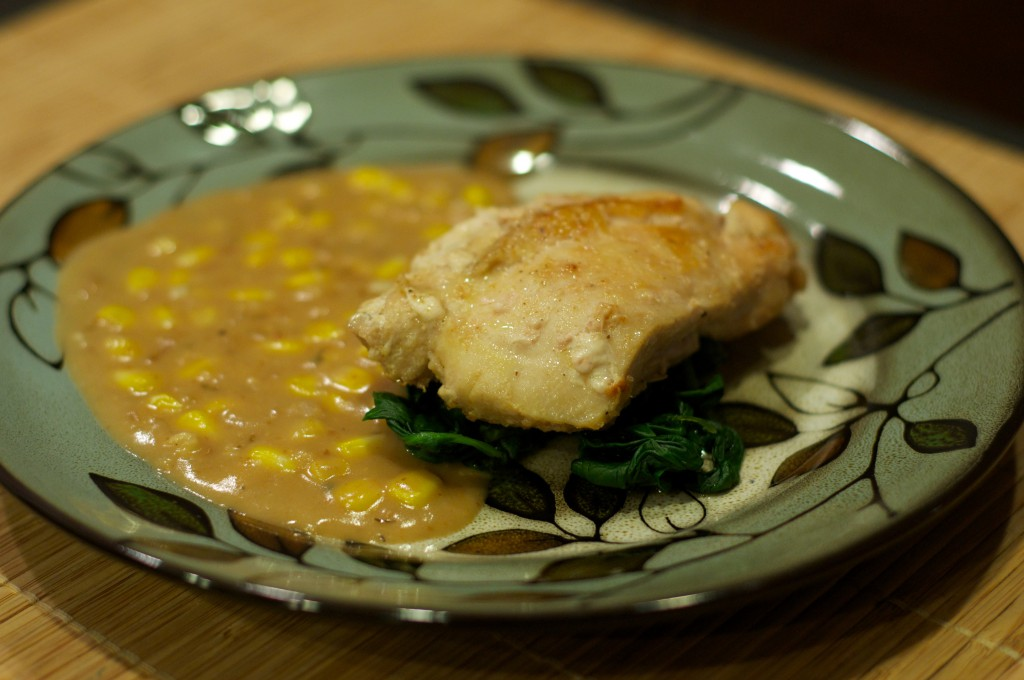 Chicken with Corn 3