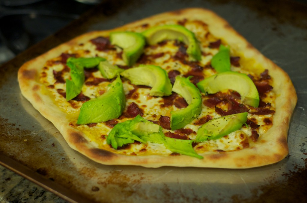 Baconcado Pizza 1