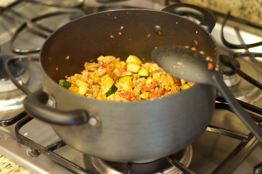 Italian Sausage Vegetable Skillet 1