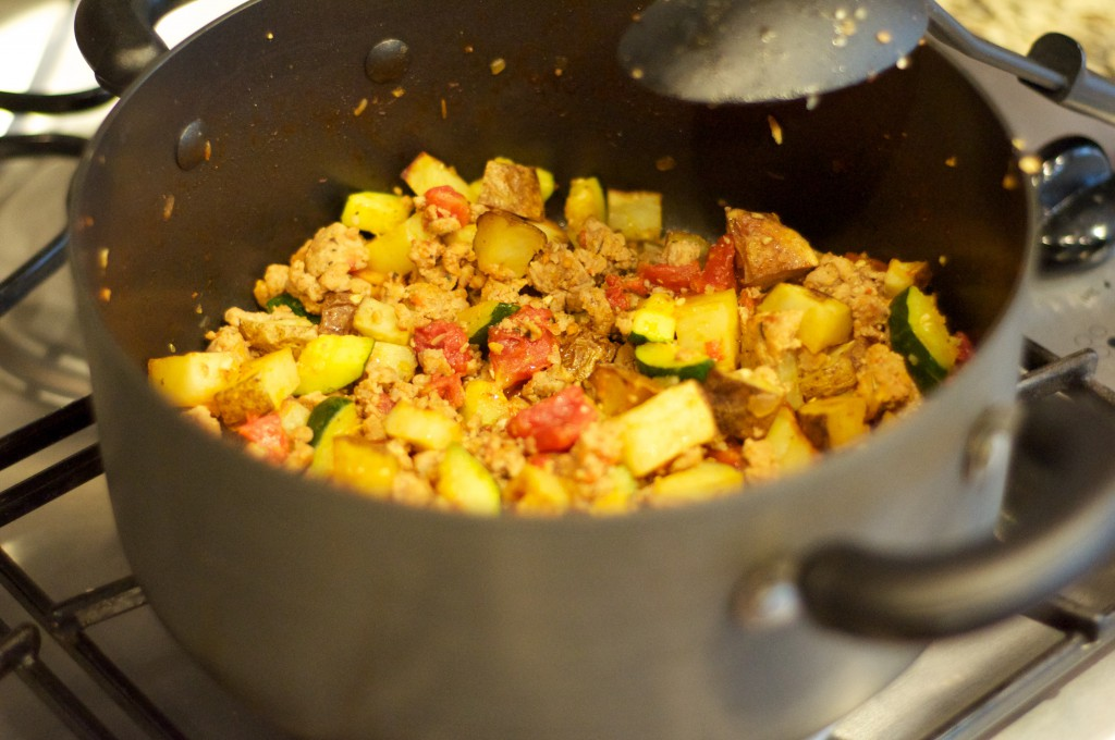 Italian Sausage Vegetable Skillet 2