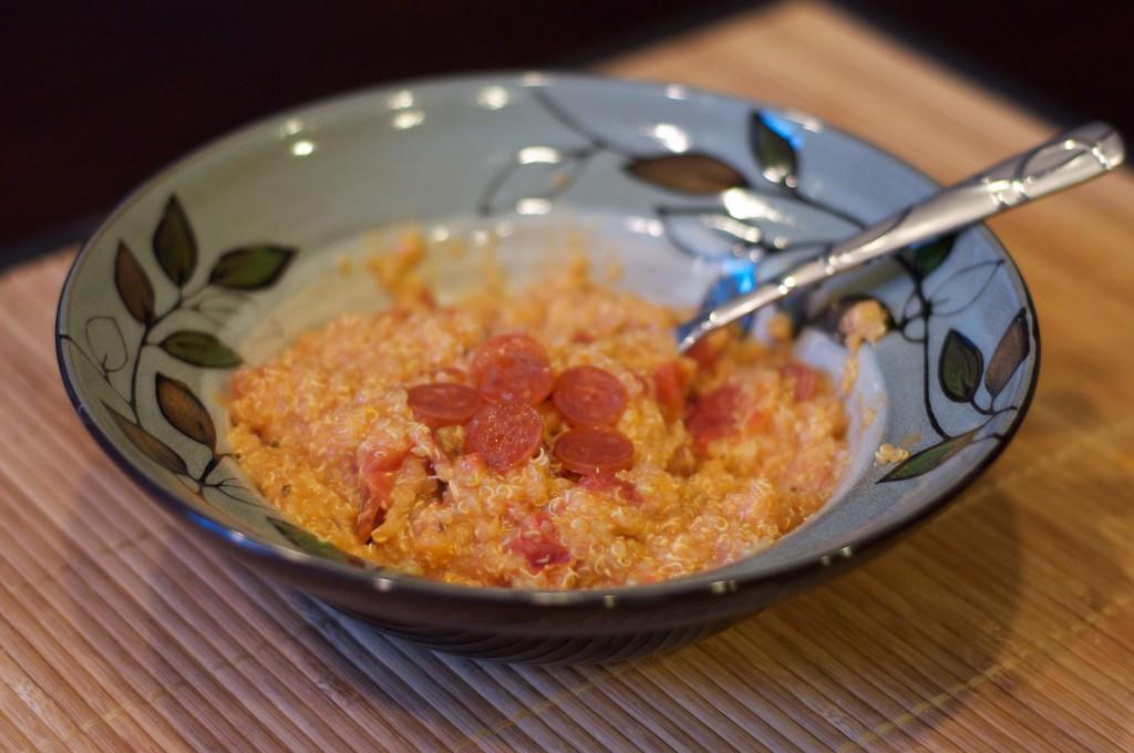 Pepperoni Pizza Quinoa 2