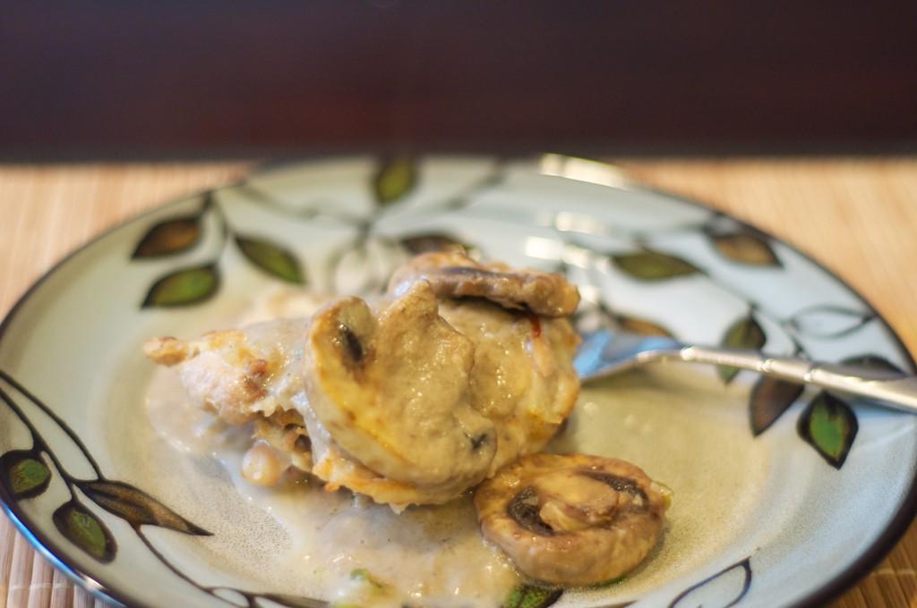 Baked Garlic Mushroom Chicken 1