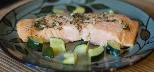 Lemon Salmon with Zucchini 3