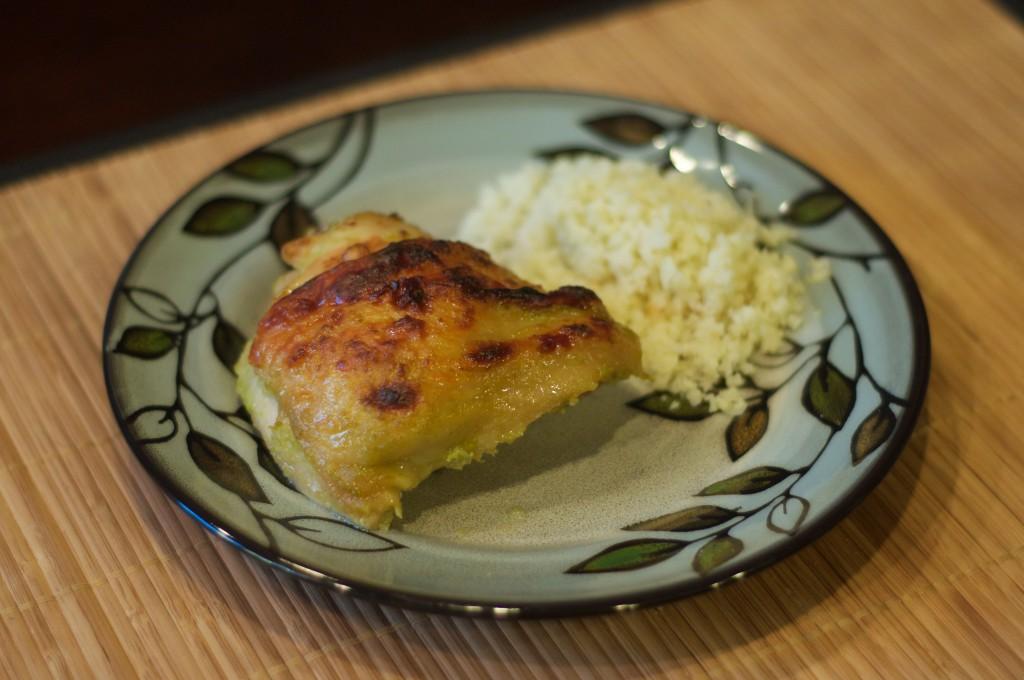Asian Chicken Thighs 1