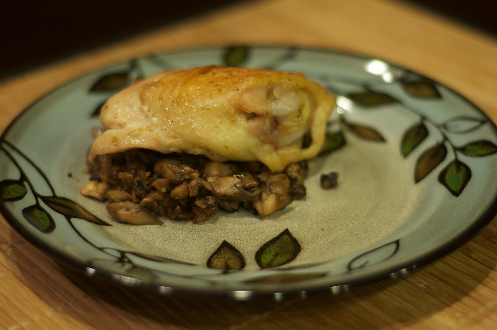 Crusty Chicken with Mushrooms and White Wine 2