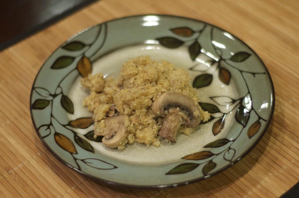 Garlic Mushroom Quinoa 2