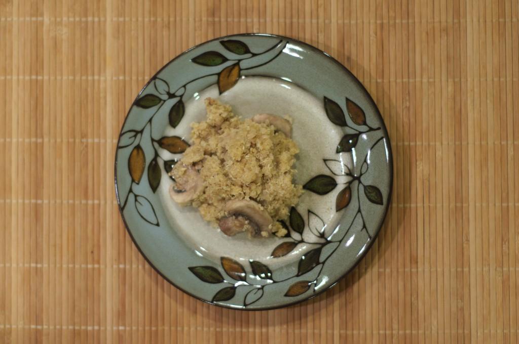 Garlic Mushroom Quinoa 3