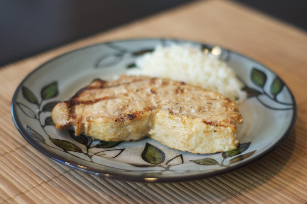 Grilled Swordfish with Mediterranean Cumin Spice Rub 2