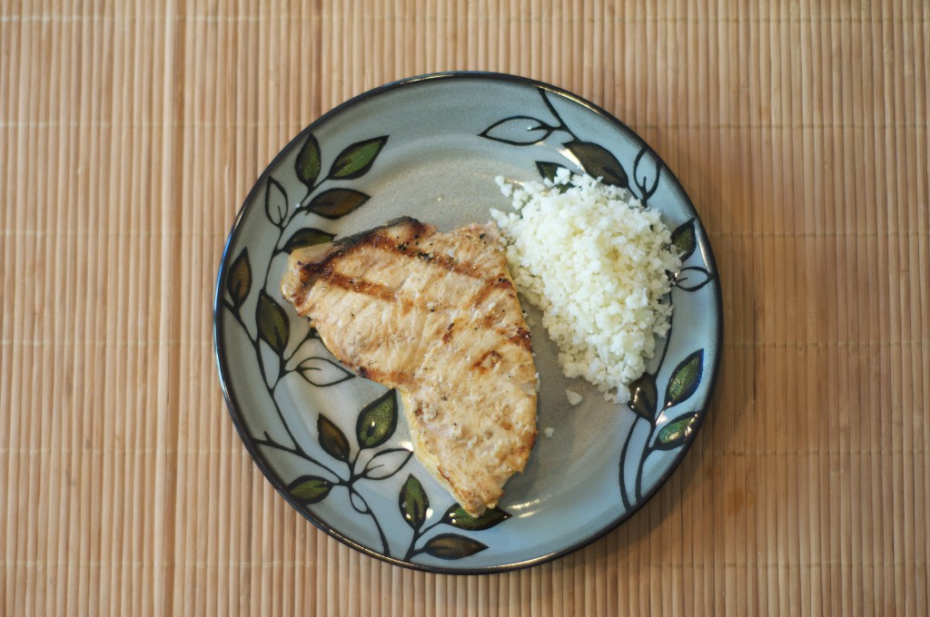Grilled Swordfish with Mediterranean Cumin Spice Rub 3