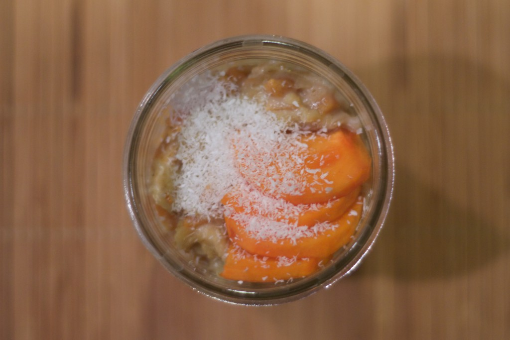 Coconut Persimmon Oatmeal 3