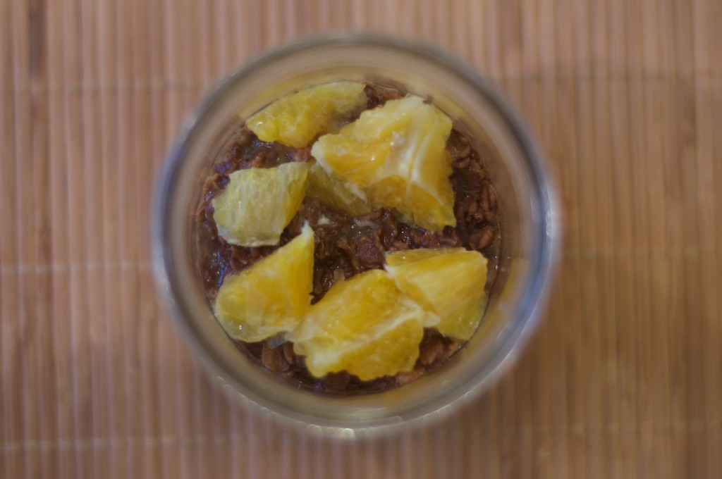 Dark Chocolate and Orange Oatmeal 3