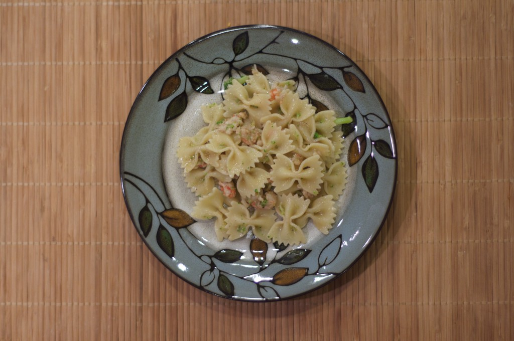 Farfalle and Brown Butter Lobster Sauce 3