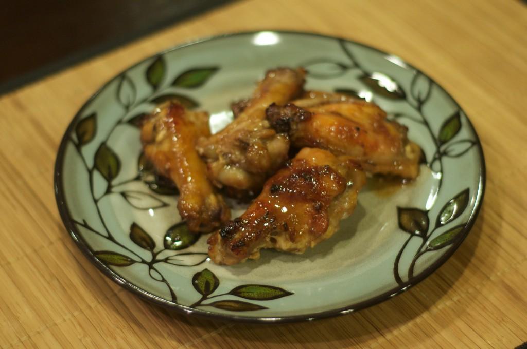 Korean Style Baked Wings 2