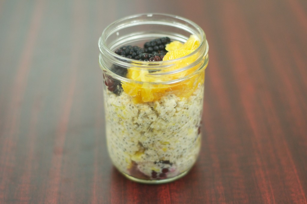 Orange Blackberry Oatmeal 2