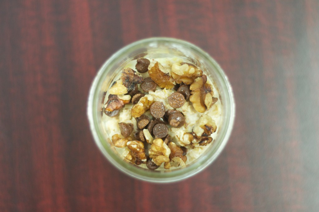 Snickers Salad Oatmeal 3