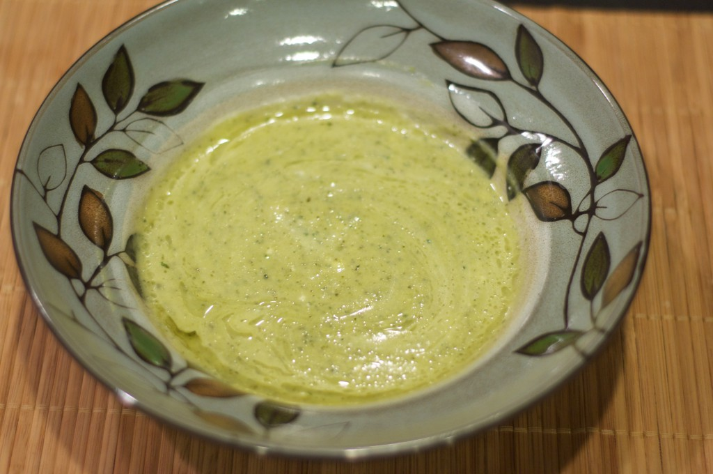 Zucchini Basil Soup 1