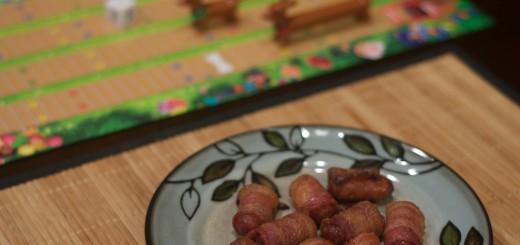 Bacon Wrapped Smokies 4