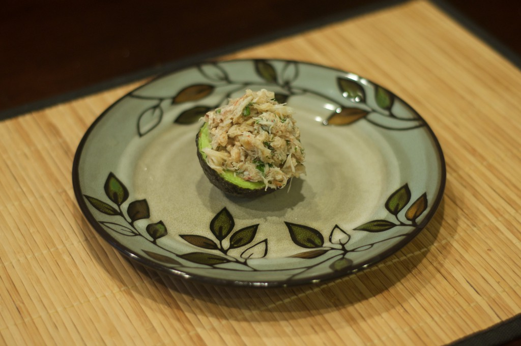 Crab Stuffed Avocado 2