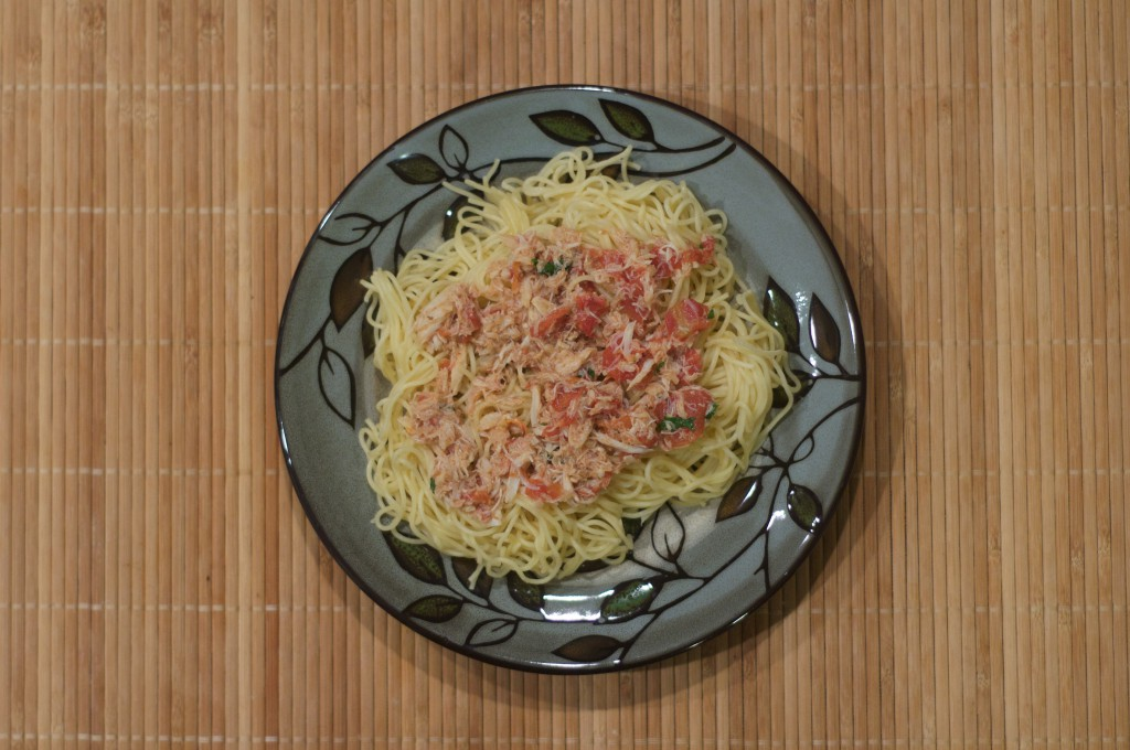 Linguine with Crab 3