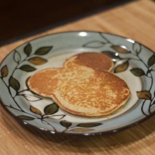 Oatmeal Cottage Cheese Banana Pancakes. Print. Prep Time