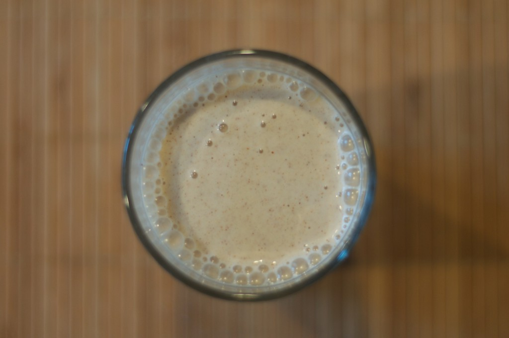 Almond Butter Banana Smoothie 3