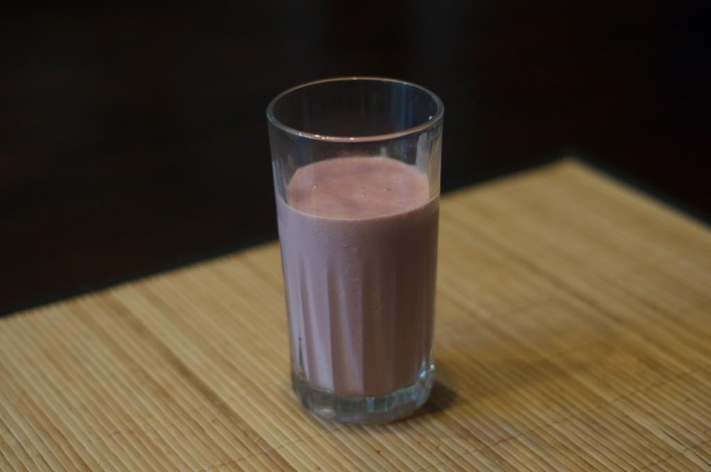 Strawberry Grape Oatmeal 2
