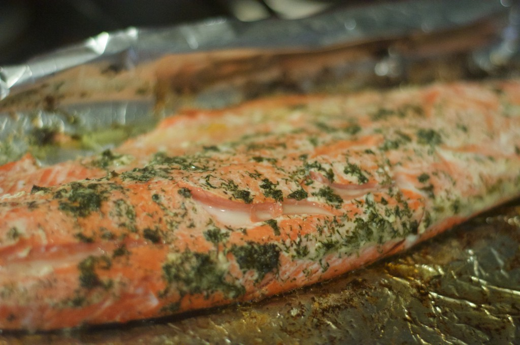 Salmon Roasted in Butter 1