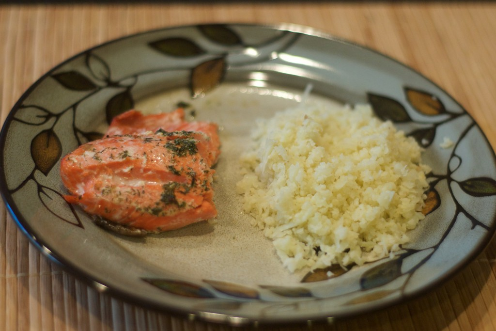 Salmon Roasted in Butter 2