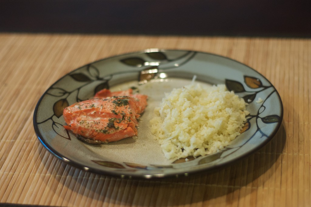Salmon Roasted in Butter 3