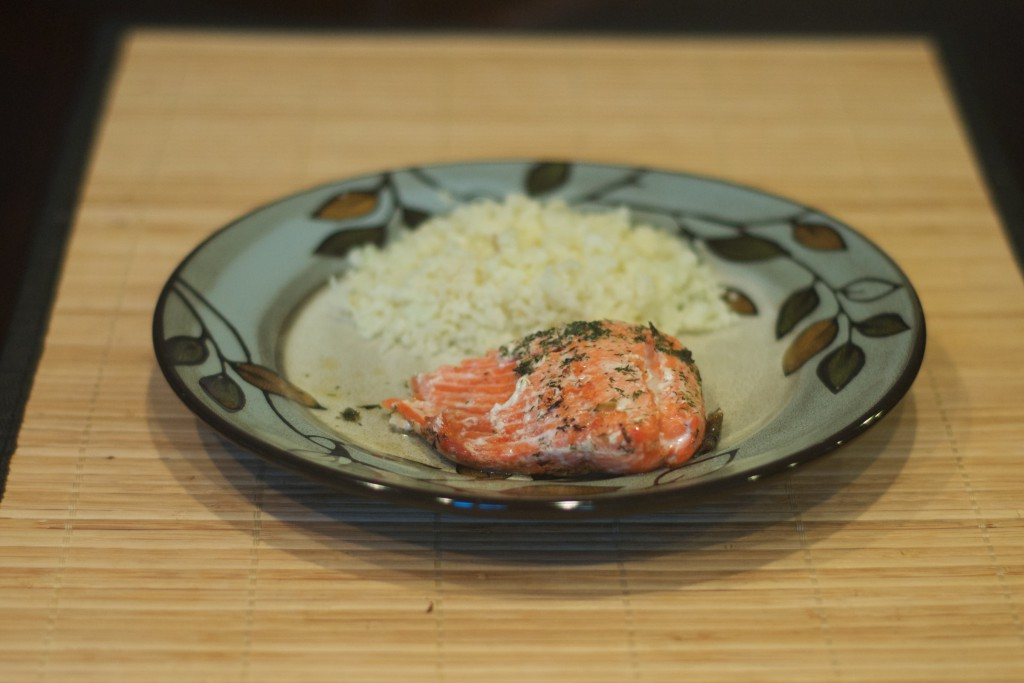 Salmon Roasted in Butter 4