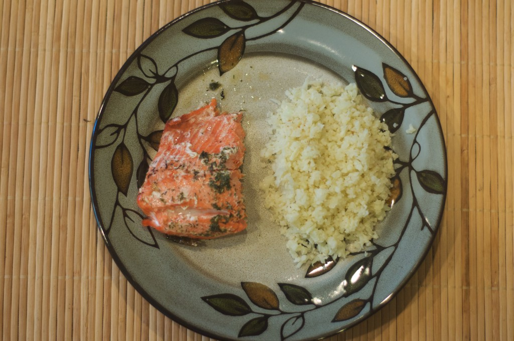 Salmon Roasted in Butter 5