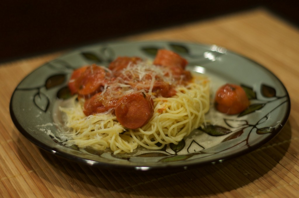 spaghetti-with-hot-dogs-2